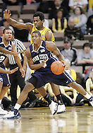 24 JANUARY 2007: Penn State guard/forward Geary Claxton (5) is guarded by Iowa forward Tyler Smith (34) in Iowa's 79-63 win over Penn State at Carver-Hawkeye Arena in Iowa City, Iowa on January 24, 2007.