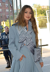 June 3, 2019 - New York, New York, United States - Gigi Hadid arriving at the CFDA Fashion Awards at the Brooklyn Museum of Art on June 03, 2019 in New York City  (Credit Image: © Kristin Callahan/Ace Pictures via ZUMA Press)