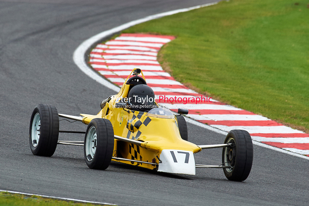 #17 Andrew MacGregor Van Diemen RF86 during Avon Tyres Formula Ford 1600 Northern Championship - Pre 90 Race 1 as part of the BRSCC Fun Cup Oulton Park 17th October 2015 at Oulton Park, Little Budworth, Cheshire, United Kingdom. October 17 2015. World Copyright Taylor/PSP. Copy of publication required for printed pictures.  Every used picture is fee-liable. http://archive.petertaylor-photographic.co.uk