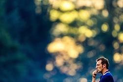 07.08.2016, Alois Latini Stadion, Zell am See, AUT, Testspiel, Schalke 04 vs ACF Fiorentina, im Bild Trainer Markus Weinzierl (FC Schalke 04) // Trainer Markus Weinzierl (FC Schalke 04) during the International Friendly Football Match between Schalke 04 and ACF Fiorentina at the Alois Latini Stadium in Zell am See, Austria on 2016/08/07. EXPA Pictures © 2016, PhotoCredit: EXPA/ JFK