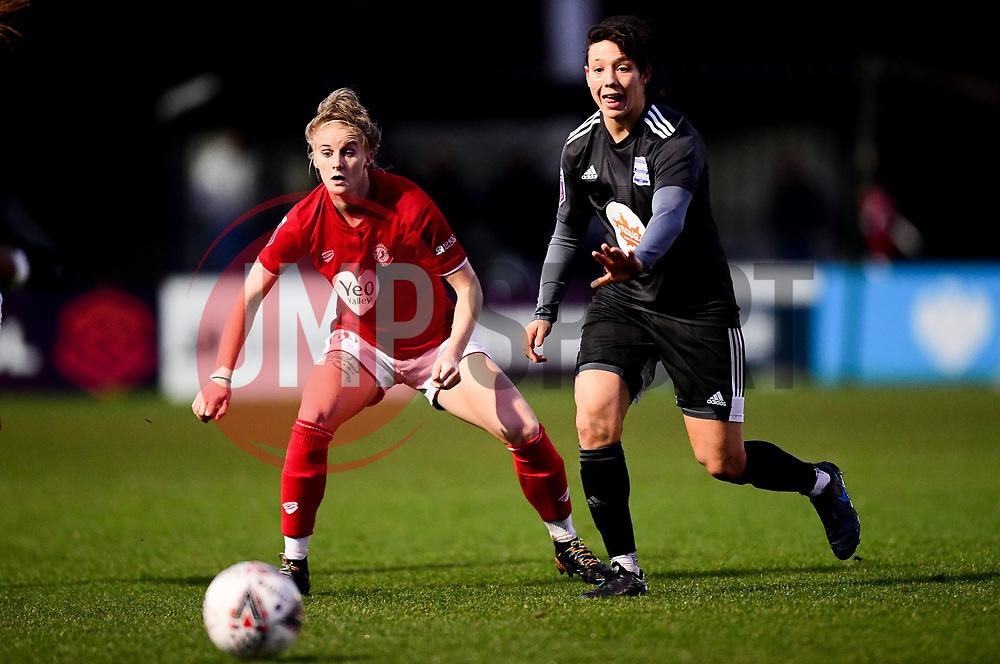 Jasmine Matthews of Bristol City - Mandatory by-line: Ryan Hiscott/JMP - 08/12/2019 - FOOTBALL - Stoke Gifford Stadium - Bristol, England - Bristol City Women v Birmingham City Women - Barclays FA Women's Super League