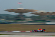 March 28, 2014 - Sepang, Malaysia. Malaysian Formula One Grand Prix. Sebastian Vettel (GER), Red Bull-Renault<br /> <br /> © Jamey Price / James Moy Photography
