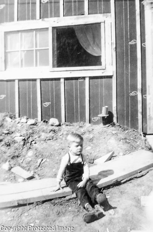 Brian, the budding philosopher. Owakonze. circa 1949