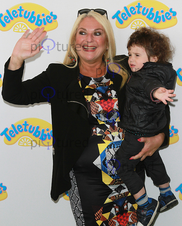 Vanessa Feltz, Teletubbies - World Premiere, BFI Southbank, London UK, 25 October 2015, Photo by Brett D. Cove