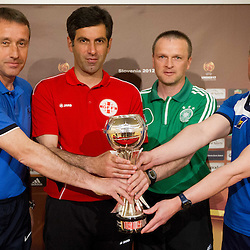 20120503: SLO, Football - UEFA European Under-17 Championship, Press conference of Group A