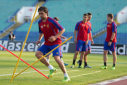 20.08.2013, Sofia, BUL, UEFA CL Play off, FC Basel, Training, im Bild, Matias Delgado // during the UEFA Champions League Trainings Match of FC Basel in Sofia, Bulgaria on 2013/08/20. EXPA Pictures © 2013, PhotoCredit: EXPA/ Freshfocus/ Andy Mueller<br /> <br /> ***** ATTENTION - for AUT, SLO, CRO, SRB, BIH only *****