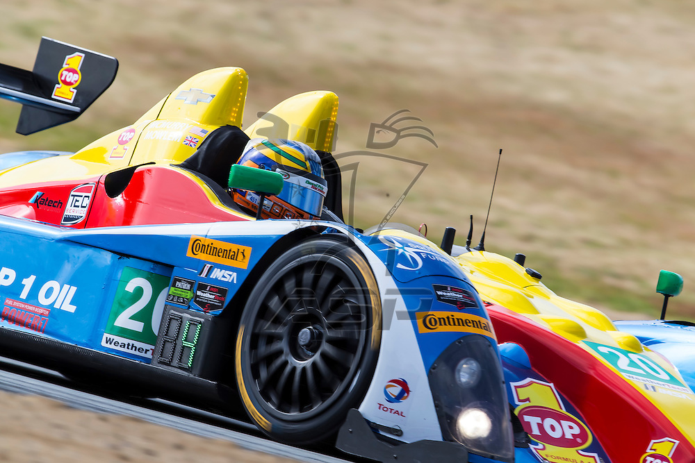 Salinas, CA - Apr 29, 2016:  The IMSA WeatherTech Sportscar Championship teams take to the track for a practice session for the Monterey Grand Prix Presented by Mazda at Mazda Raceway in Salinas, CA.