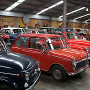Vintage cars on display at Matthew's Vintage Collection  near Kaitaia.Northland, New Zealand. ..Matthew's Vintage Collection is a privately owned collection of vintage cars and machinery used in farming dating back to the early 1900's. Accumulated and restored by an avid vintage enthusiast over the last 40 years, covering over 1100 square meters of display area...Matthews Vintage Collection includes an extensive range of Farmall tractors covering a period from 1920's to 1950's as well as a variety of other makes..The selection of vintage cars including Nash's, Chevrolets and a Singer Roadster. Kaitaia Northland, New Zealand. 20th November 2010 Photo Tim Clayton.