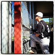 Longmont Christian School baseball Friday, April 27, 2012 at Sandstone Ranch Park. Photo taken with the popular photo sharing iPhone application Instagram..(Matthew Jonas/Times-Call)
