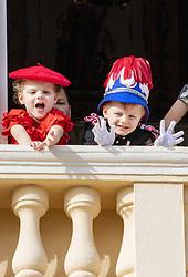 November 19, 2019, Monaco, Monaco: 19-11-2019 Monte Carlo Prince Jacques, Princess Gabriella of Monaco during the Monaco national day celebrations in Monaco. (Credit Image: © face to face via ZUMA Press)