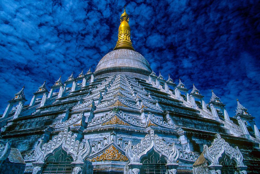 The Mahazedi Pagoda, Bago (Pegu), Myanmar (Burma)