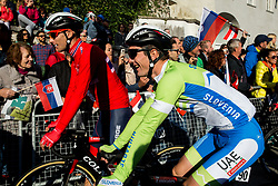 Jan Polanc of Slovenia prior to the Men's Elite Road Race a 258.5km race from Kufstein to Innsbruck 582m at the 91st UCI Road World Championships 2018 / RR / RWC / on September 30, 2018 in Innsbruck, Austria. Photo by Vid Ponikvar / Sportida