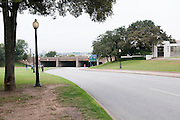 The street in Dallas where President Kennedy was assassinated. You can see the grassy knoll on the other side of the street. Missoula Photographer