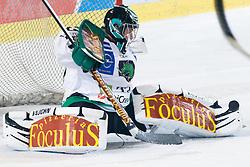 Matija Pintaric (HDD Tilia Olimpija, #69) at during ice-hockey match between HDD Tilia Olimpija and EHC Liwest Black Wings Linz in 18th Round of EBEL league, on November 5, 2010 at Hala Tivoli, Ljubljana, Slovenia. (Photo By Matic Klansek Velej / Sportida.com)