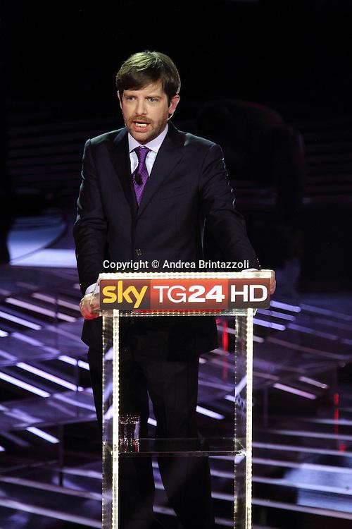 Milano, 29 Novembre 2013. Il confronto tra i candidati PD.<br /> Gianni Cuperlo