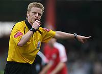 Photo: Rich Eaton.<br /> <br /> Bristol City v Swansea City. Coca Cola League 1. 07/04/2007. referee Mr Jones