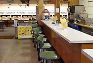 Chatham, NY - A view of the snack bar at Chatham Bowl on Nov. 21, 2008.
