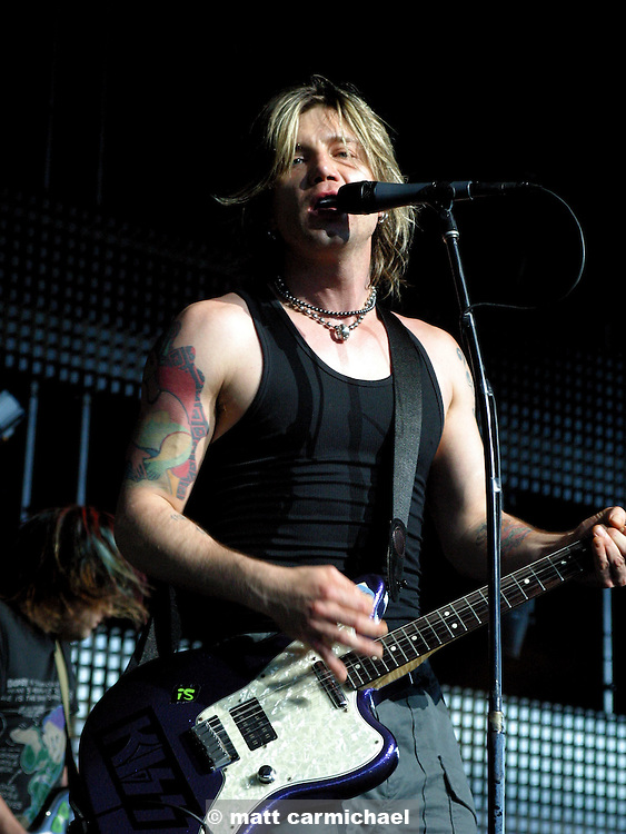 Johnny Reznick of the Goo Goo Dolls.