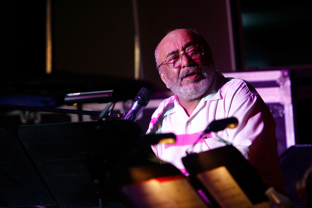 Puerto Rican American pianist, Eddie Palmieri plays at International Afro-American Festival in Maracay, Venezuela. June 23, 2008. Palmieri (born December 15, 1936), is a Grammy award winning musician, best known for combining jazz piano and instrumental solos with Latin rhythms. (ivan gonzalez)