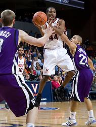 Virginia guard Sean Singletary (44)..The Virginia Cavaliers men's basketball team faced the Northwestern Wildcats at John Paul Jones Arena in Charlottesville, VA on November 27, 2007.