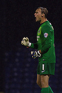 Picture by David Horn/Focus Images Ltd +44 7545 970036<br /> 13/09/2013<br /> Sam Slocombe of Scunthorpe United during the Sky Bet League 2 match at Roots Hall, Southend.