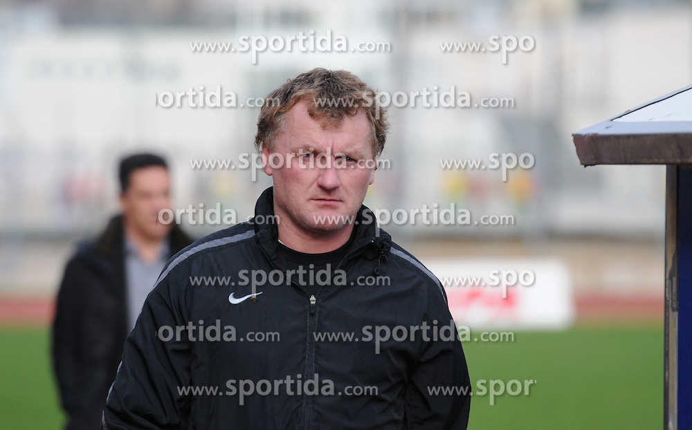 Franc Cifer, coach of ND Mura 05 before football match between ND Gorica and ND Mura 05 in 20th Round of Prva liga NZS 2012/13, on November 24, 2012 in Nova Gorica, Slovenia. (Photo by Ales Cipot / Sportida).