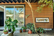 Backyard studio at the home of architect Wayne Troyer; 1519 Camp