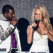 MON/Monaco/20140527 -World Music Awards 2014, Jason Derulo en Pamela Anderson