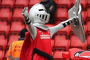 Mascot Sir Valiant during the Sky Bet Championship match between Charlton Athletic and Reading at The Valley, London, England on 27 February 2016.