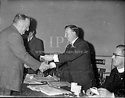 Presentation of Safety First Awards<br /> 11.07.1961