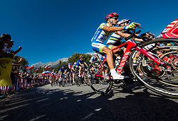 Simon Spilak of Slovenia  during the Men's Elite Road Race a 258.5km race from Kufstein to Innsbruck 582m at the 91st UCI Road World Championships 2018 / RR / RWC / on September 30, 2018 in Innsbruck, Austria. Photo by Vid Ponikvar / Sportida