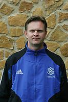 Fotball<br /> Toppserien kvinner 2005<br /> Foto: Digitalsport<br /> <br /> Magnus Jansson - trener Asker