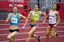 womens 600 meters, Brenna Detra<br /> Boston University Scarlet and White<br /> Indoor Track & Field, Bruce LeHane , adidas, BAA,