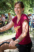 Evette Randolph at the Louisiana Bicycle Festival in Abita Springs on June 15, 2019