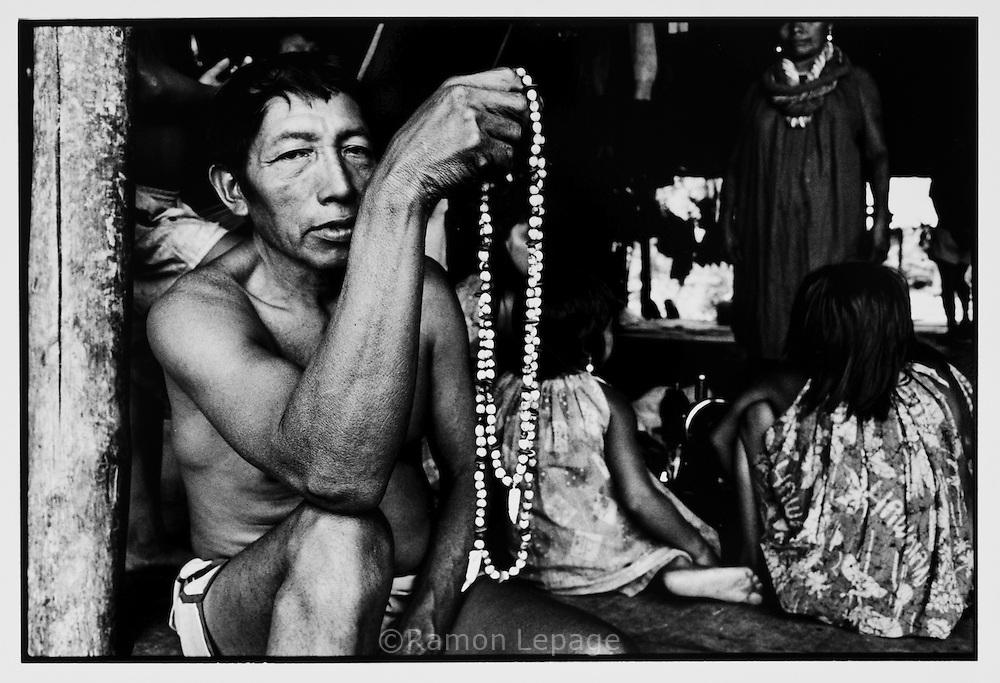 Muraco, Comunidad indígena Warao, Delta del Orinoco...