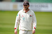Lancashire's Luke Procter during the Specsavers County Champ Div 1 match between Somerset County Cricket Club and Lancashire County Cricket Club at the County Ground, Taunton, United Kingdom on 3 May 2016. Photo by Graham Hunt.