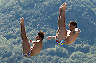 Team ITALY TOCCI Giovanni CHIARABINI Andrea bronze medal<br /> Bolzano, Italy <br /> 22nd FINA Diving Grand Prix 2016 Trofeo Unipol<br /> Diving<br /> Men's 3m synchronised springboard final <br /> Day 03 17-07-2016<br /> Photo Giorgio Perottino/Deepbluemedia/Insidefoto