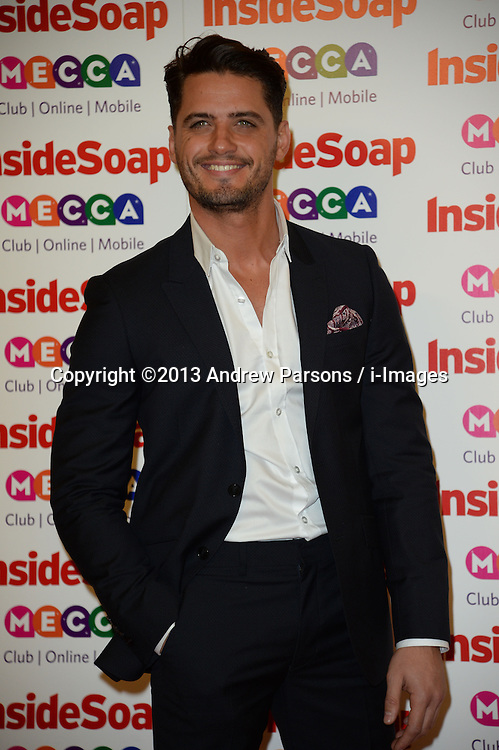 Inside Soap Awards.<br /> Fabrizio Santino arrives for the Inside Soap Awards, Ministry of Sound,London, United Kingdom,<br /> Monday, 21st October 2013. Picture by Andrew Parsons / i-Images