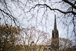THEMENBILD - The Hub ist ein ehemaliger Kirchenbau. Er wird heute für Veranstaltungen genutzt. Schottlands Hauptstadt Edinburgh ist die zweitgrößte Stadt Schottlands. Aufgenommen am 27.10.2014 in Edinburgh, Schottland // The Hub. Edinburgh, capital city of scotland. Edinburgh, Scotland on 2014/10/27. EXPA Pictures © 2014, PhotoCredit: EXPA/ Michael Gruber