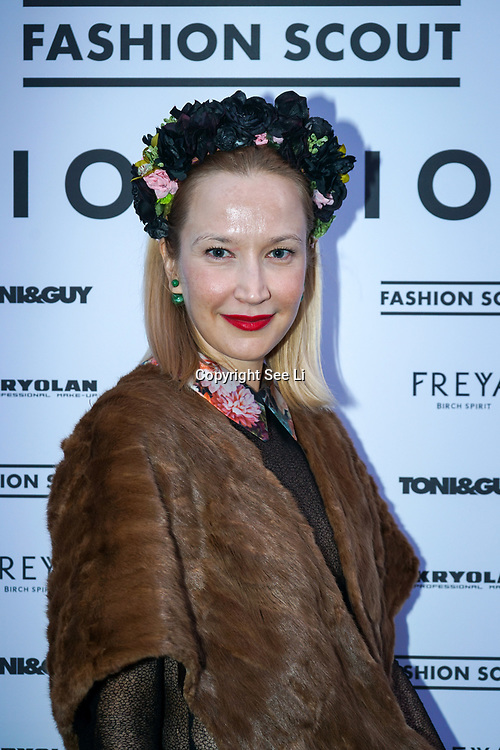 London, England, UK. 17th September 2017.Author magazine attends FASHION SCOUT SS18 Day 3 at Freemasons Hall.