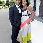 NLD/Amsterdam/20120721 - Huwelijk Berget Lewis en Sebastiaan van Rooijen, Dean Gorre en partner Magali
