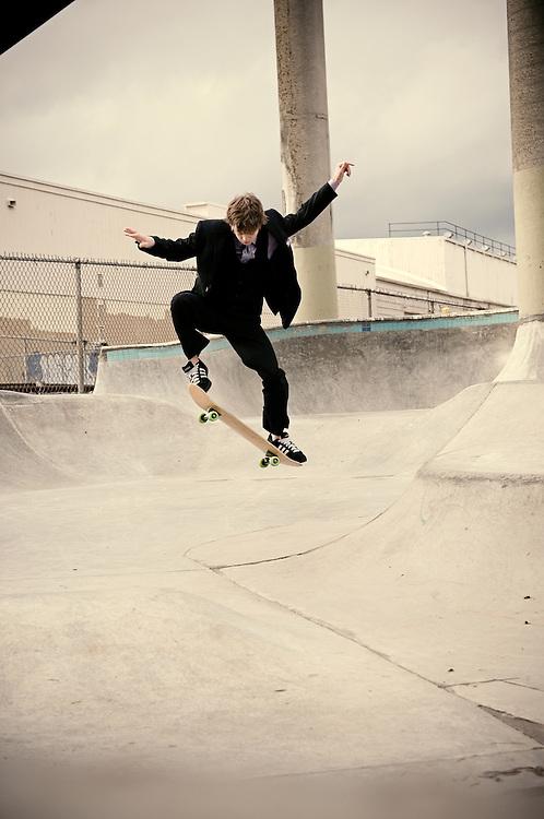 Cleveland High School Senior skateboarder