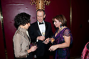 RUTH NEGGA; SIR NICHOLAS HYTNER; SARAH SANDS, 56th London Evening Standard Theatre Awards. Savoy Hotel. London. 28 November 2010.  -DO NOT ARCHIVE-© Copyright Photograph by Dafydd Jones. 248 Clapham Rd. London SW9 0PZ. Tel 0207 820 0771. www.dafjones.com.