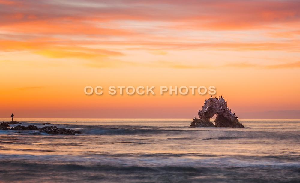 Arch Rock at Sunset Corona Del Mar California