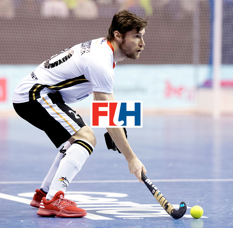 BERLIN - Indoor Hockey World Cup<br /> Quarterfinal 3: Germany - Switzerland<br /> foto: Martin Zwicker.<br /> WORLDSPORTPICS COPYRIGHT FRANK UIJLENBROEK