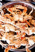 Fresh crabs at the Foto Hotel, Phuket.
