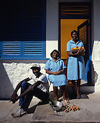Ian Fleming's original staff at Goldeneye Jamaica