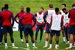 England's Jesse Lingard and team mates - Mandatory by-line: Matt McNulty/JMP - 29/08/2017 - FOOTBALL - St George's Park National Football Centre - Burton-upon-Trent, England - England Training and Press Conference
