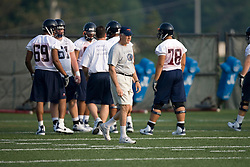 Head Coach Al Groh..The 2007 Virginia Cavaliers football team opened fall practice on August 6, 2007 at the University of Virginia football practice fields near the McCue Center in Charlottesville, VA.