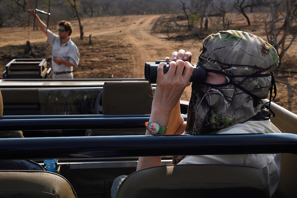 Photographer Marie-Noelle Bertiere, Zimanga Private Nature Reserve, KwaZulu Natal, South Africa
